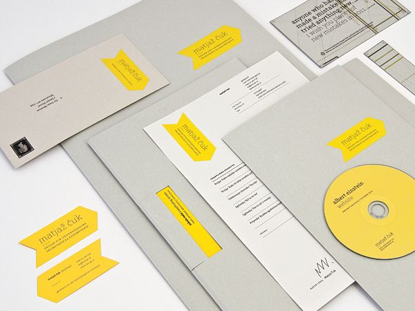 54 Unique Pocket Folder and Office Stationery Designs | Corporate ...