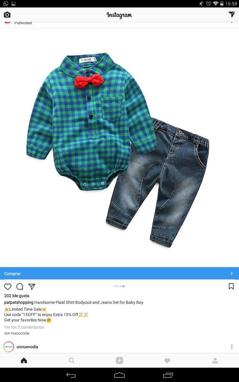 57f7287b2 Camisa verde y azul con moño rojo