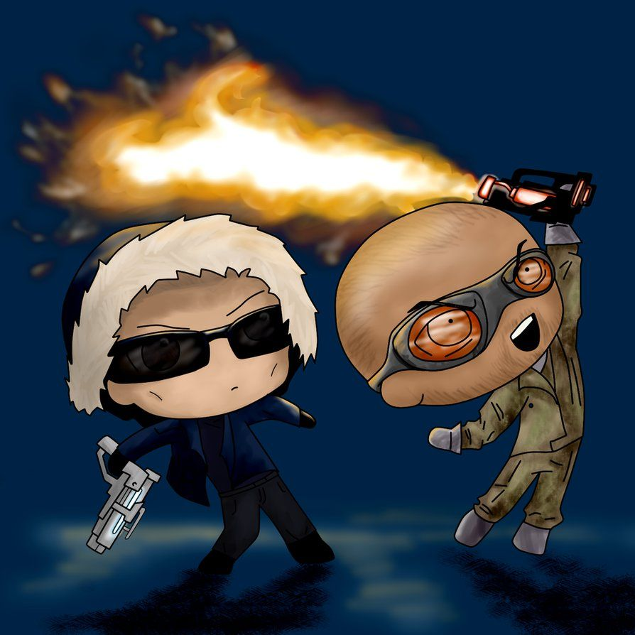 CW Captain Cold and Heatwave by BIazeRod on DeviantArt ...