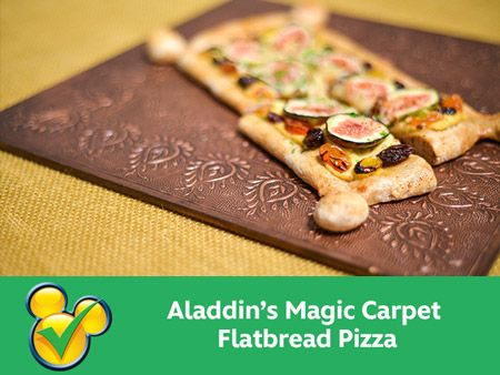Aladdin 39 s magic carpet flatbread pizza bites and for Aladdins cuisine