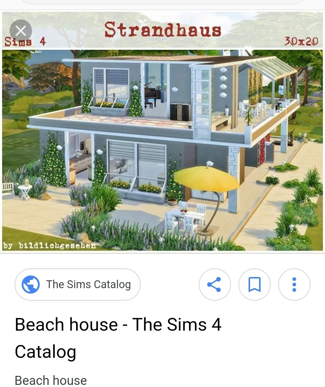 Pin by Whitney on SIMS 4 BUILDING INSPO Beach house