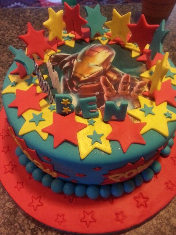 Iron Man Cake Topper Nz