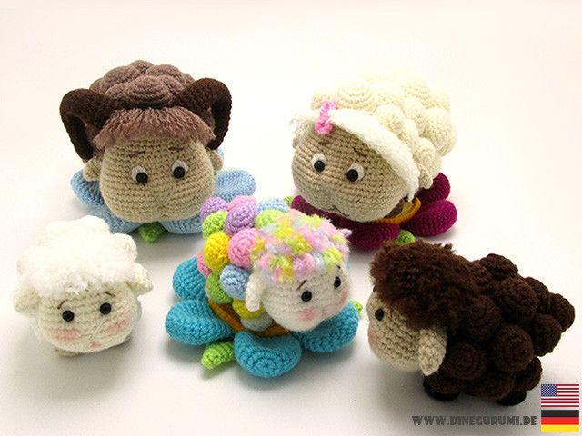 Sheep family crochet pattern amigurumi | Pinterest | Patrones ...