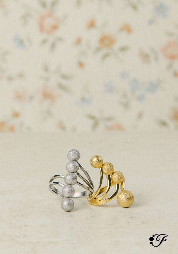 Silver and Gold. Dorado y Plateado. No tenés por qué elegir.