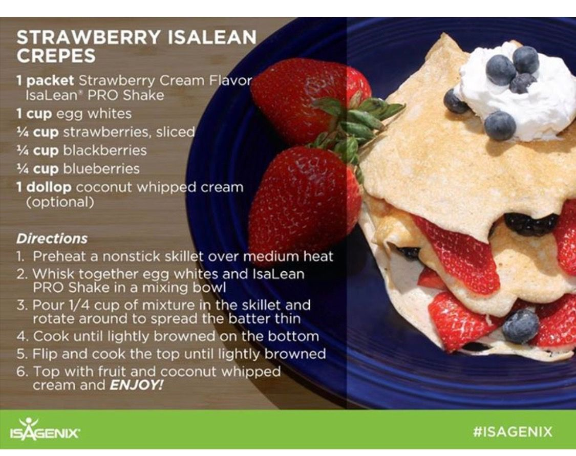 isagenix cleanse meal recipes   menurecipe.co