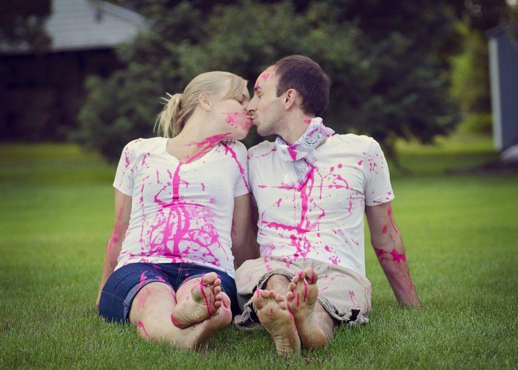 Gender Reveal Idea www.alibeckphoto.com