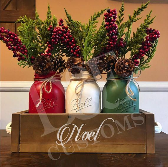 This is a perfect way to ring in the holiday season with this rustic