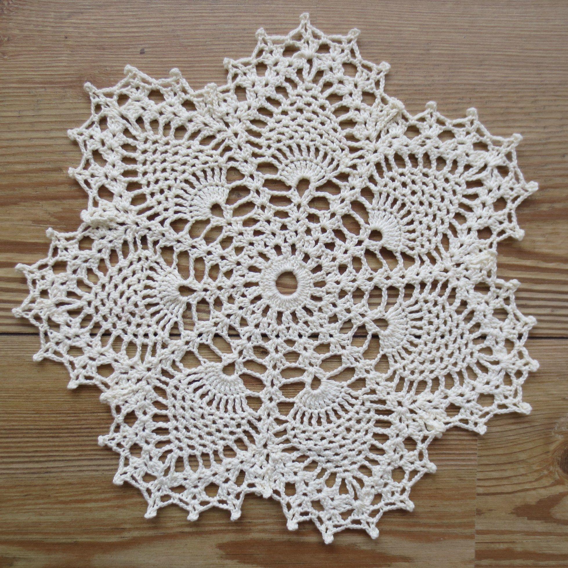 Free Crochet Doily Patterns Crochet Patterns Pinterest Häkeln
