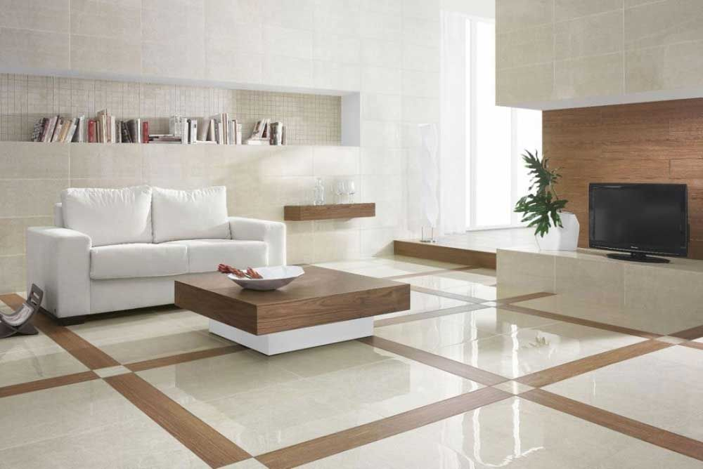Modern Floor Tiles Design For Living Room Living Room Floor Tile Design Ideas With Sofa And Small Wooden