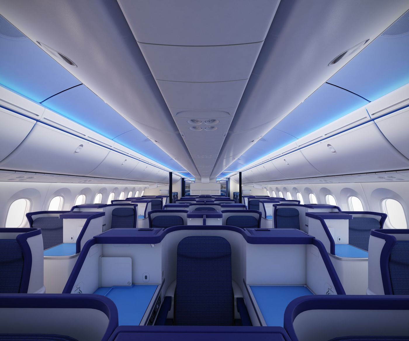 New boeing 787 dreamliner interior the only way to fly for Interior 787 dreamliner