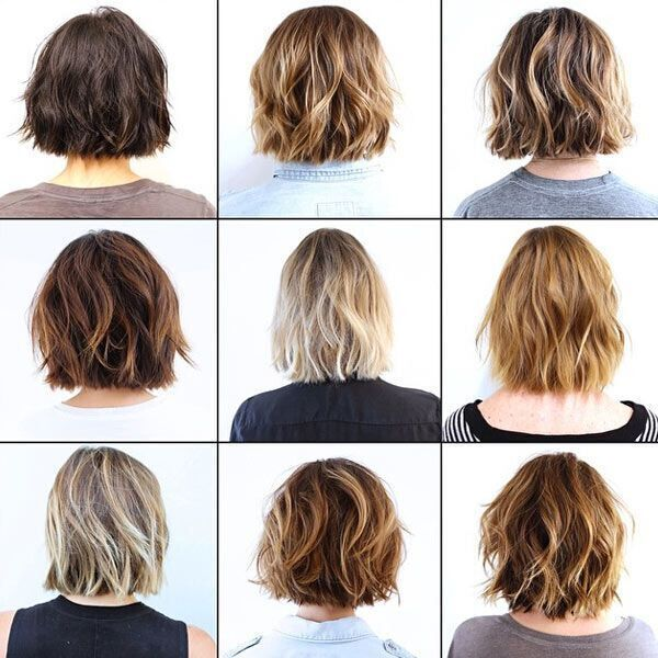 Waves Long Bob Mid Length Hairstyle Ideas Kapsels In 2018