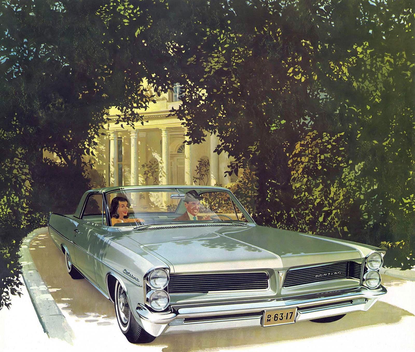 1963 Pontiac Catalina Sports Coupe: Art Fitzpatrick and Van Kaufman