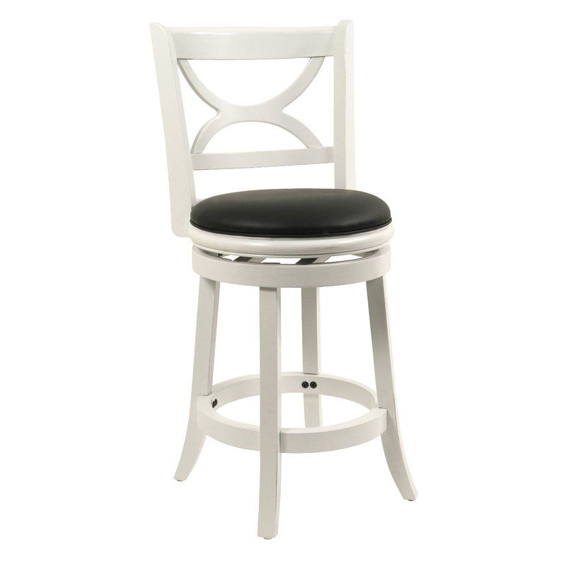 Red Barrel Studio Lakemoore 24 Swivel Bar Stool Reviews Wayfair With Images Swivel Bar Stools