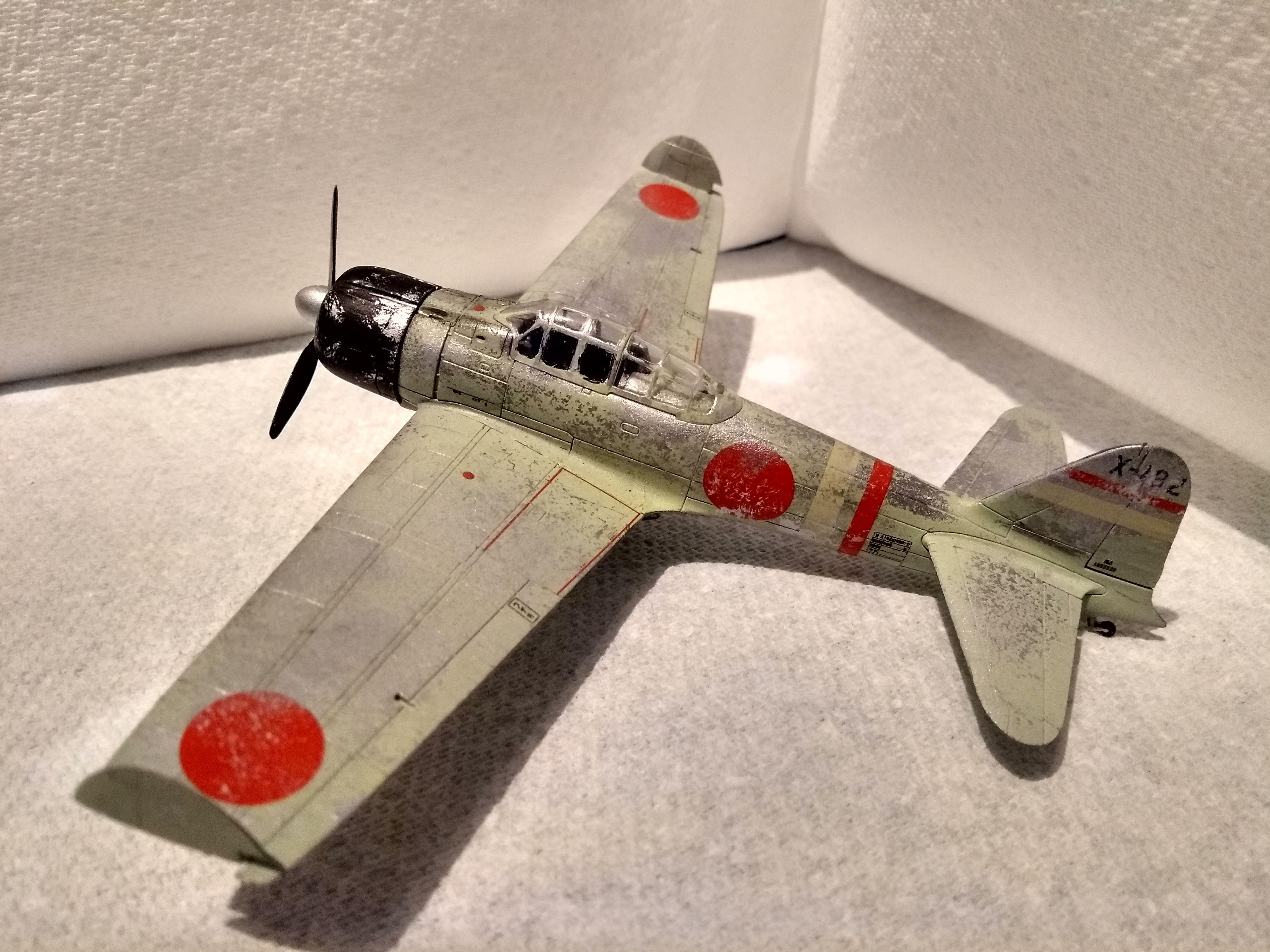 Airfix 1/72 Zero - Ready for Inspection - Aircraft - Britmodeller com