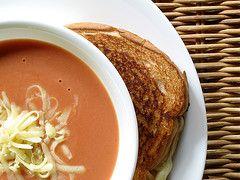 Old fashioned cream of tomato soup 55