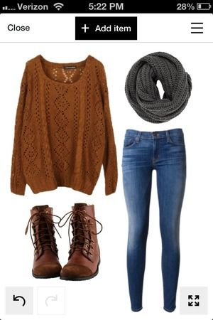 First date outfit ideas autumn leaves