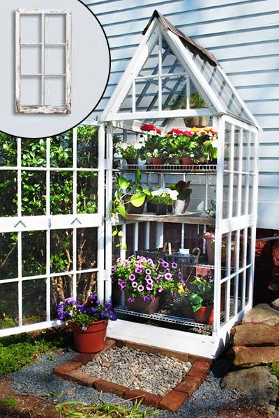 4 greenhouses made from recycled windows herb garden pinterest garten garten gew chshaus. Black Bedroom Furniture Sets. Home Design Ideas