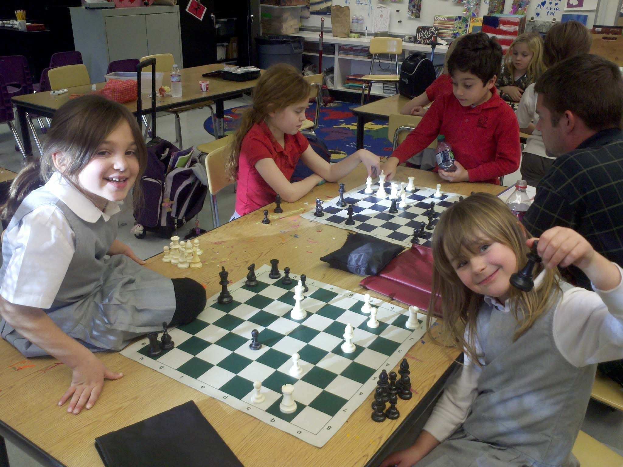 After school chess at the Lower School