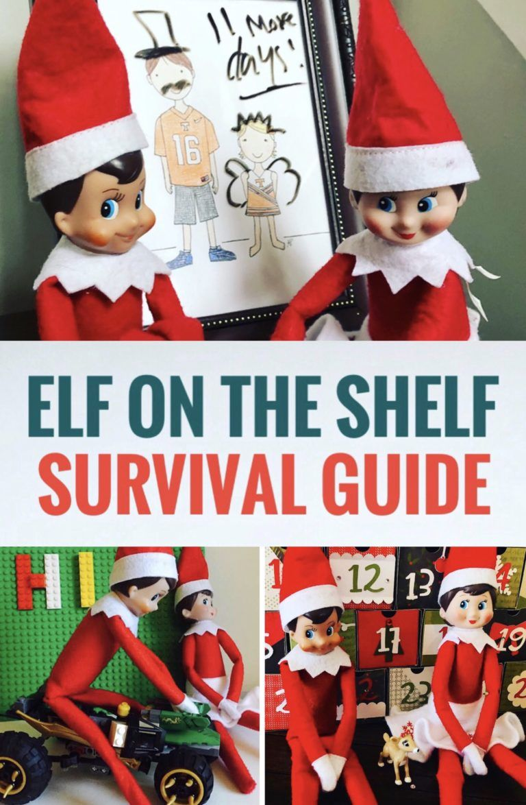 Elf on the Shelf Survival Guide for Busy Moms - Glitter On A Dime #elfontheshelfarrival