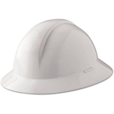 North Safety A Safe Everest Hard Hat White Full Brim Slotted A49r010000 Walmart Com Hard Hat Brim Hard Hats