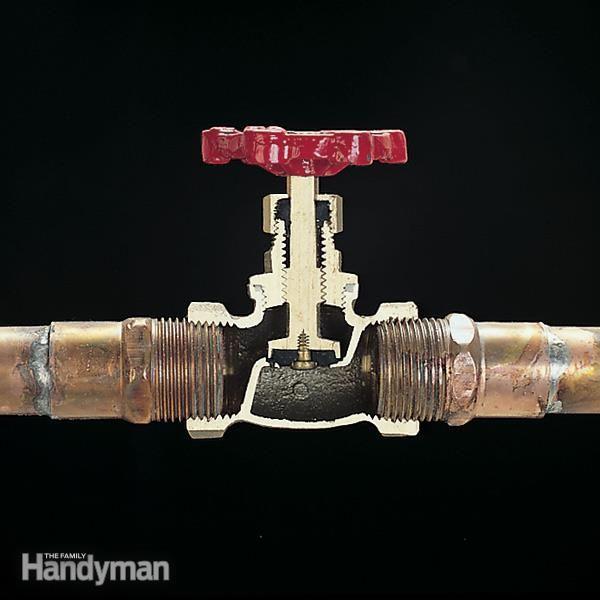 plumbing valve basics cutaway gate and plumbing valves. Black Bedroom Furniture Sets. Home Design Ideas