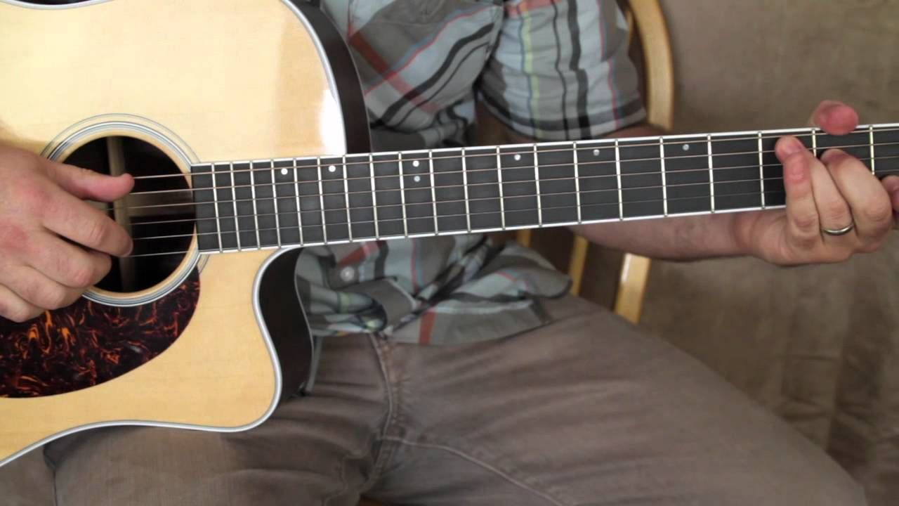 How To Play Dust In The Wind Intro Acoustic Fingerpicking Guitar