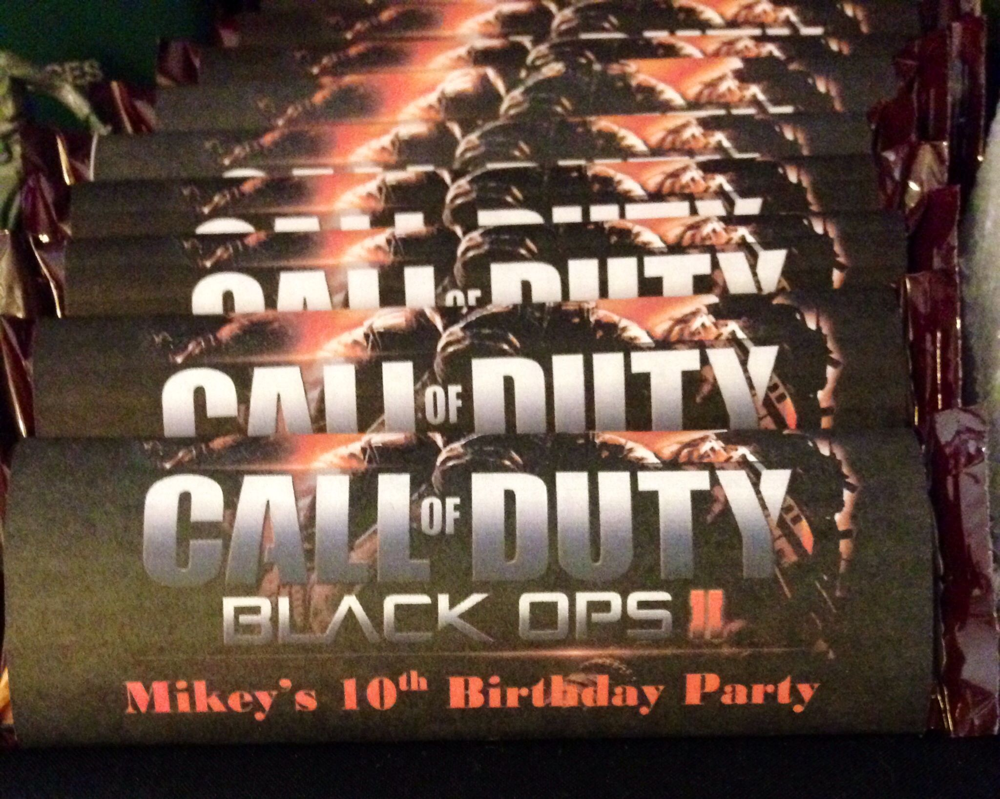 best Call of Duty Birthday Party images on Pinterest