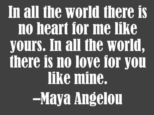 maya angelou love quotes for him