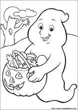 disegni da colorare i halloween