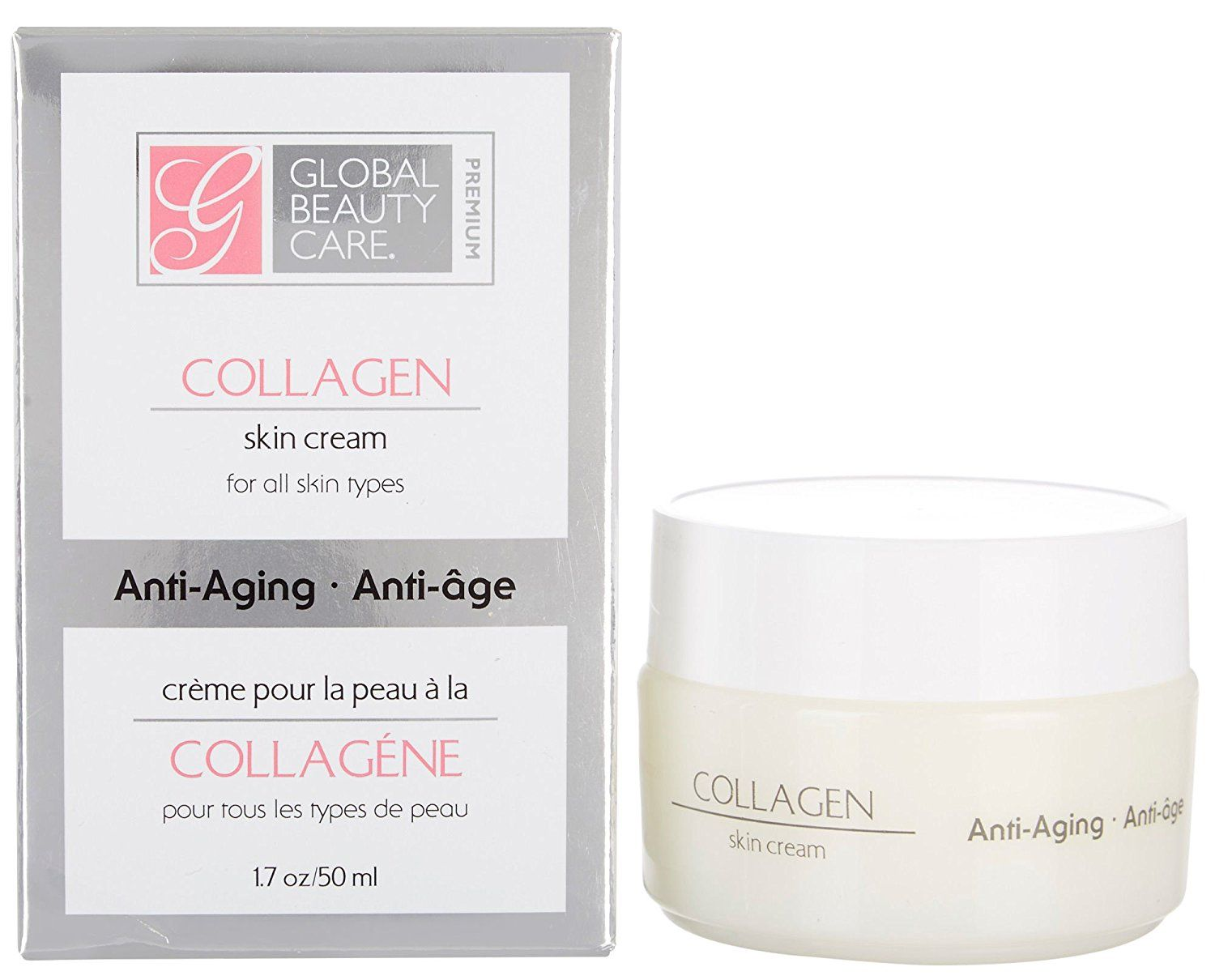 Global Beauty Care Premium Collagen Skin Cream 1 7 Oz Cream This Is An Amazon Affiliate Link Click Image To R Skin Cream Skin Cream Anti Aging Beauty Care