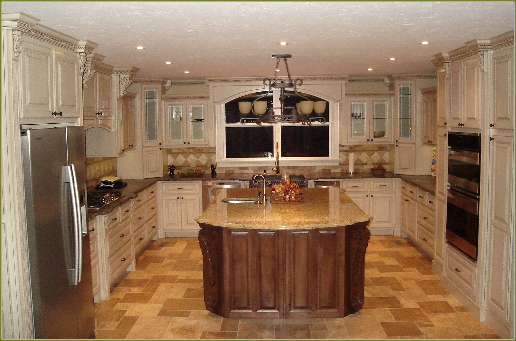 Antique Kitchen Design 27 Antique White Kitchen Cabinets Amazing Photos Gallery  Rustic