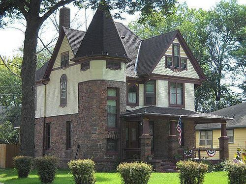Holmes Mansion Sioux City Country Style Homes Victorian Style Homes Mansions