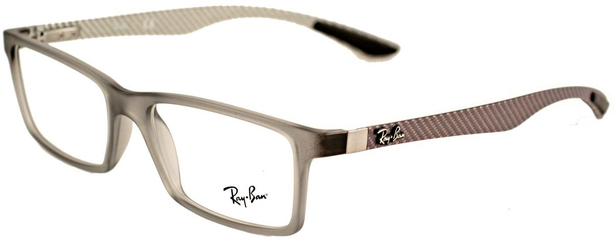 f2fe337c09ca Ray-Ban RX8901 5244 Matte Grey Designer Glasses. Find this Pin and more on Men  eyeglasses ...