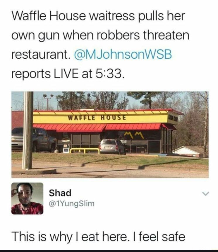 Waffle House Get More Gifs Funny Funnymemes Humor Videos Memes Funnypictures Funnypic Quotes Pic Funny News Funny News Headlines Funny Black Memes