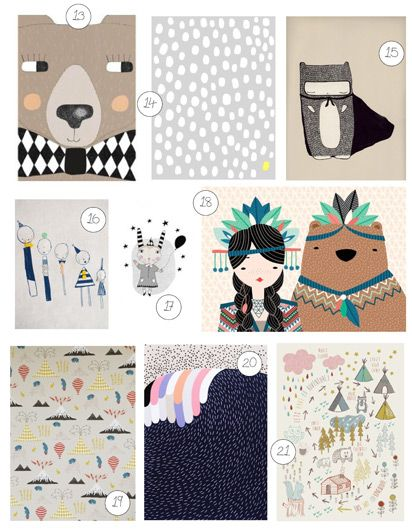 21 art prints for kids - Print For Kids