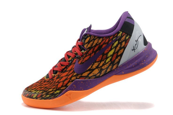 buy popular 98d2b 42732 Nike Kobe 8 Year of the Snake Total Orange Crimson Purple