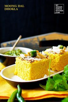 Moong dal dhokla recipe pinterest garlic recipes and cake moong dal dhokla recipe forumfinder Choice Image