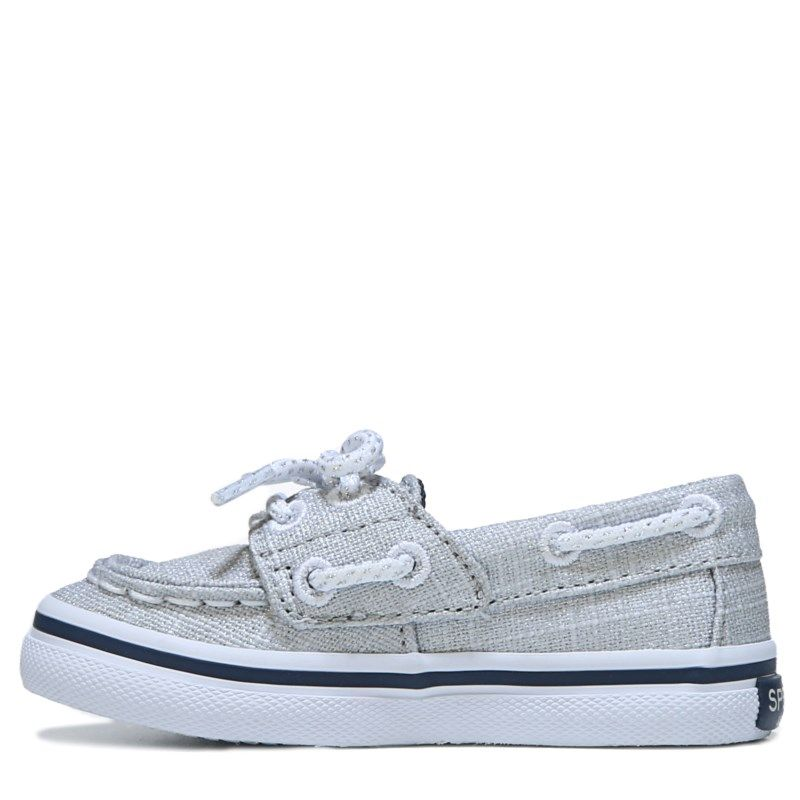 Sperry Top-Sider Kids' Seabright Jr Memory Foam Boat Shoe Toddler/Preschool  Shoes (Metallic)