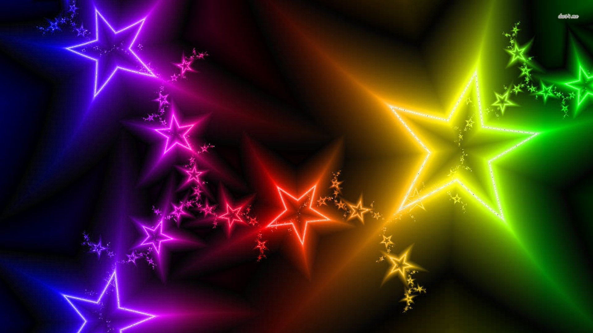 colorfulstarswallpaperabstractwallpapers5150colorful