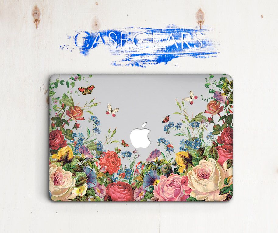 Floral Macbook Pro 13 15 Retina Hard Case Flowers Macbook Air 11 13 2018 Cover
