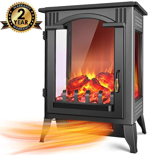 Most Recent Screen Electric Fireplace Vintage Thoughts Warm Up Without Waiting This 1500w Pow Electric Fireplace Electric Fireplace Heater Fireplace Heater