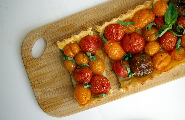 Roasted tomato tart by patent and the pantryeat pastry crust roasted tomato tart by patent and the pantryeat pastry crust recipe too forumfinder Gallery