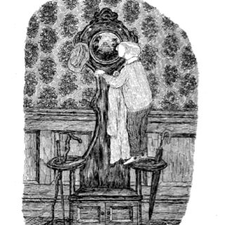 Edward Gorey Prints From John Bellairs Childrens Book House With A Clock In It S Walls Edward Gorey Artist Art