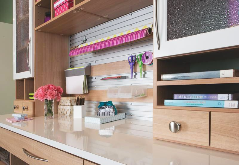 Everyone deserves their own space to be creative -California Closets Photography-