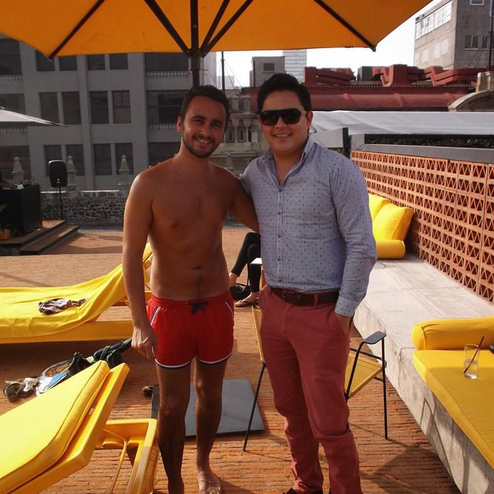Remi Escande y Aaron Meneses at Downtown
