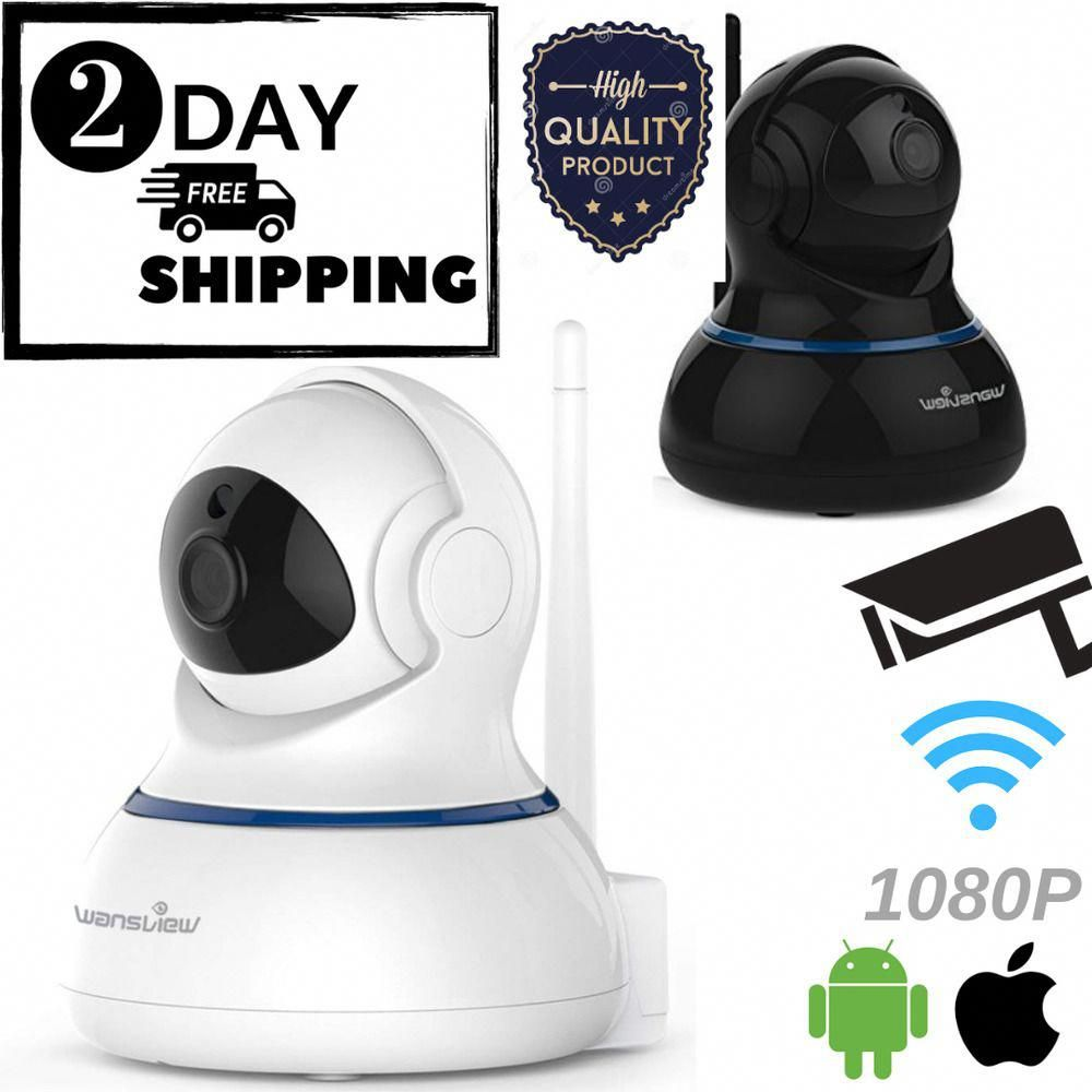 Wansview Wireless 1080P IP Camera, WiFi Home Security Surveillance