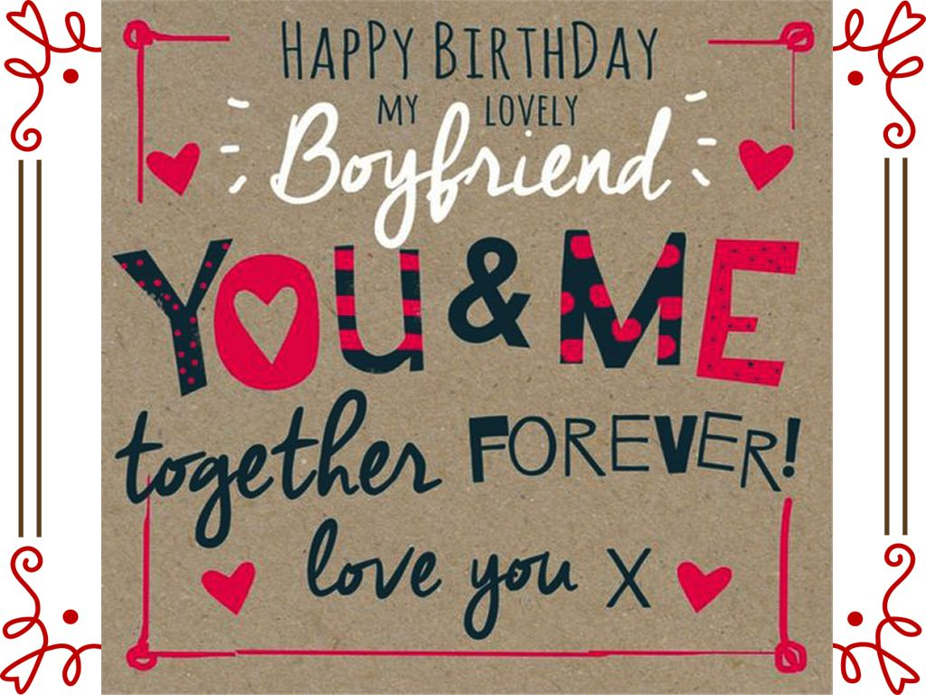 Romantic Birthday Wishes For Boyfriend With Images Happy
