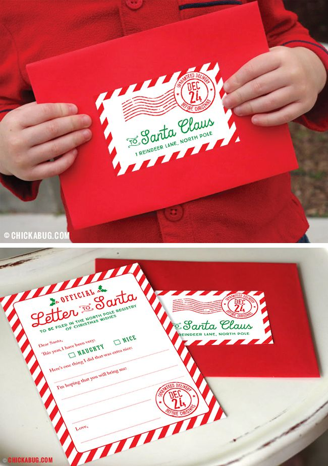 Official letter to santa kit set of 4 mailing labels christmas start a new christmas tradition with this special official letter to santa kit set of spiritdancerdesigns Images