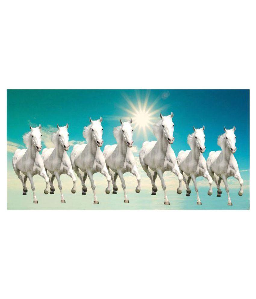 Pin Animalsbeautifulwhitehorsehighdefinition | FUNGSHUI | Horse wallpaper, Seven horses painting ...