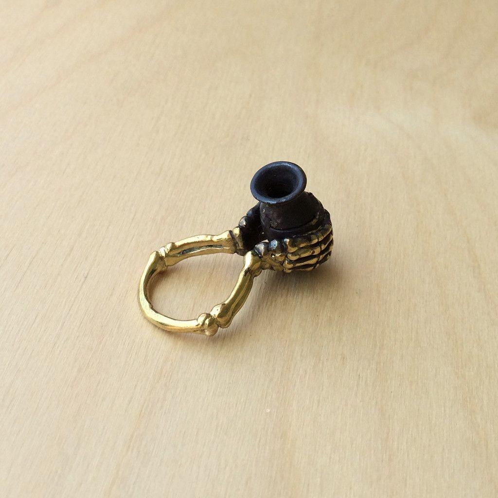 Aquarius Brass Ring - Monserat De Lucca